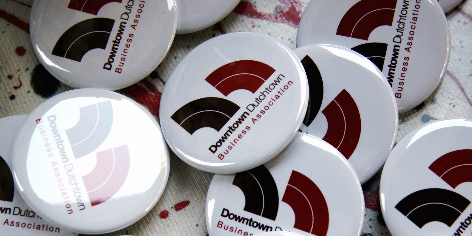 DT2 buttons. Photo by Tom Lampe.