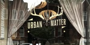 Urban Matter's storefront window. Photo by Nick Findley.