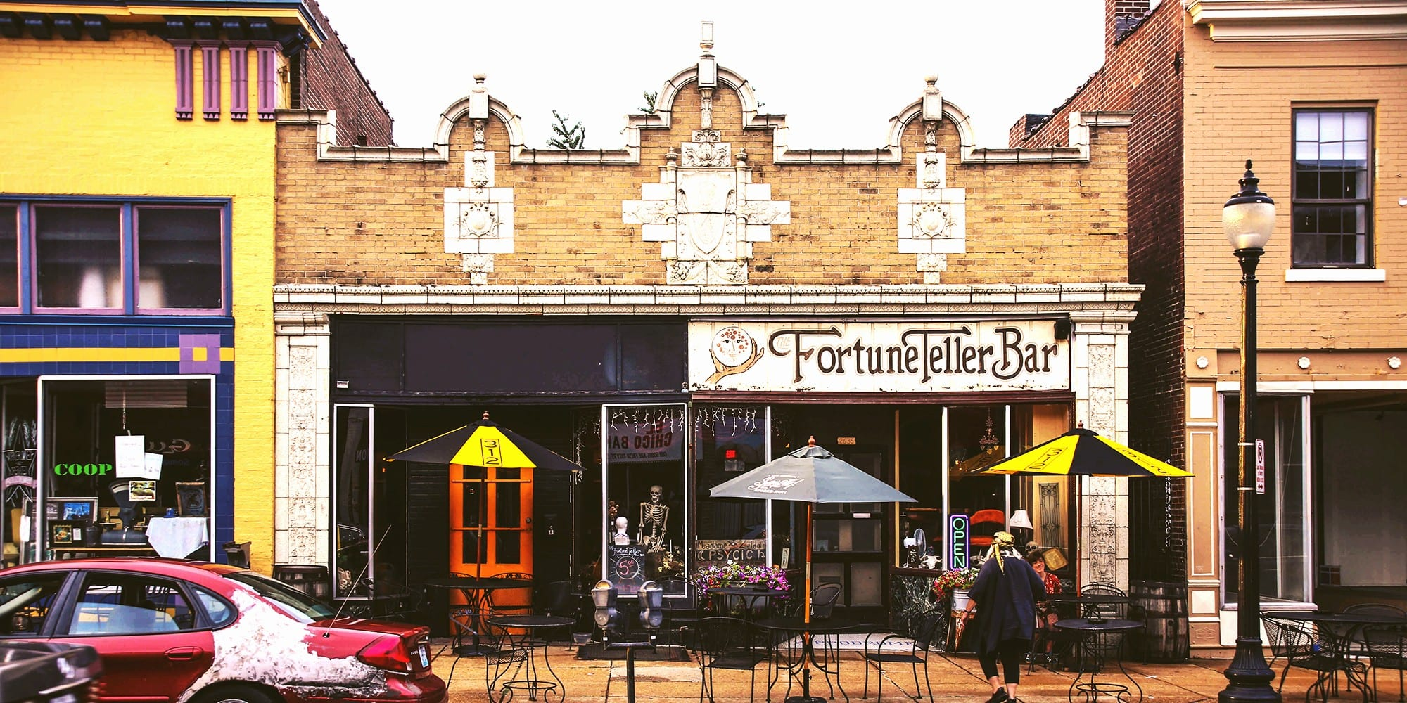 The Fortune Teller Bar on Cherokee Street. Photo by Paul Sableman.