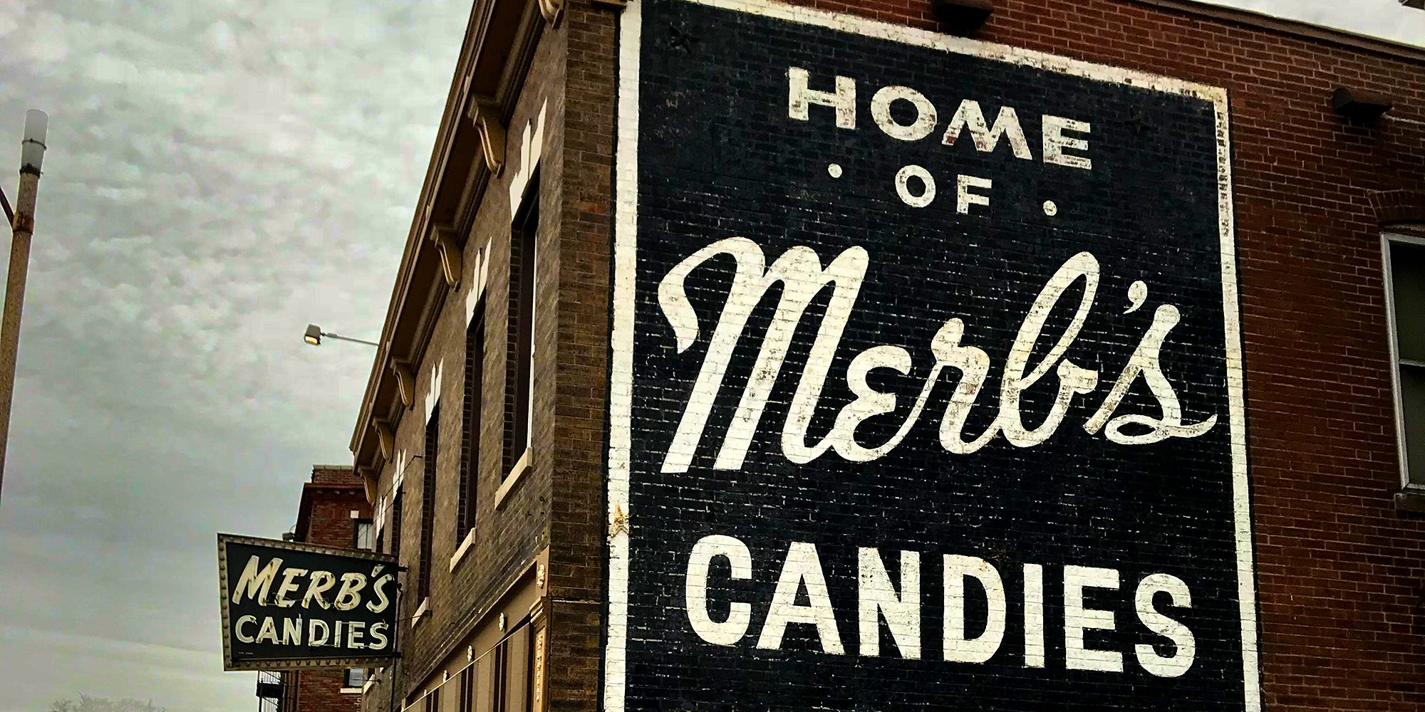 Merb's Candies on South Grand in Dutchtown, St. Louis, MO.