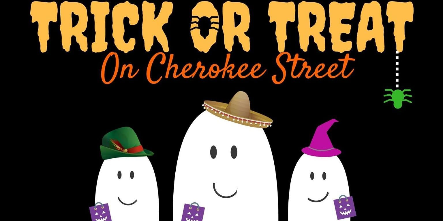 Trick or Treat on Cherokee Street.