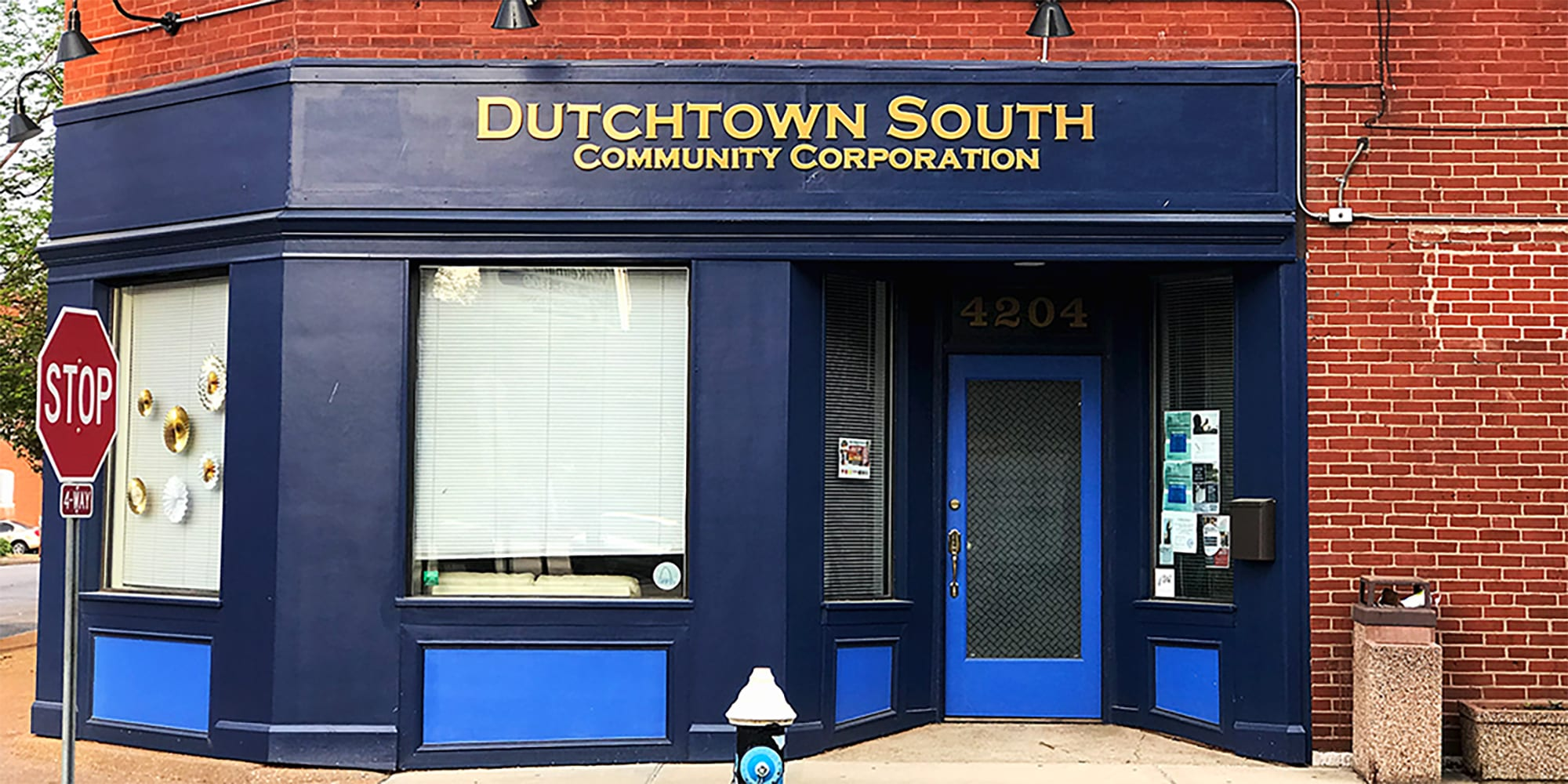 Dutchtown South Community Corporation's office at Virginia and Meramec.