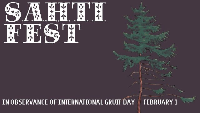Sahti Fest, in observance of International Gruit Day on February 1st.