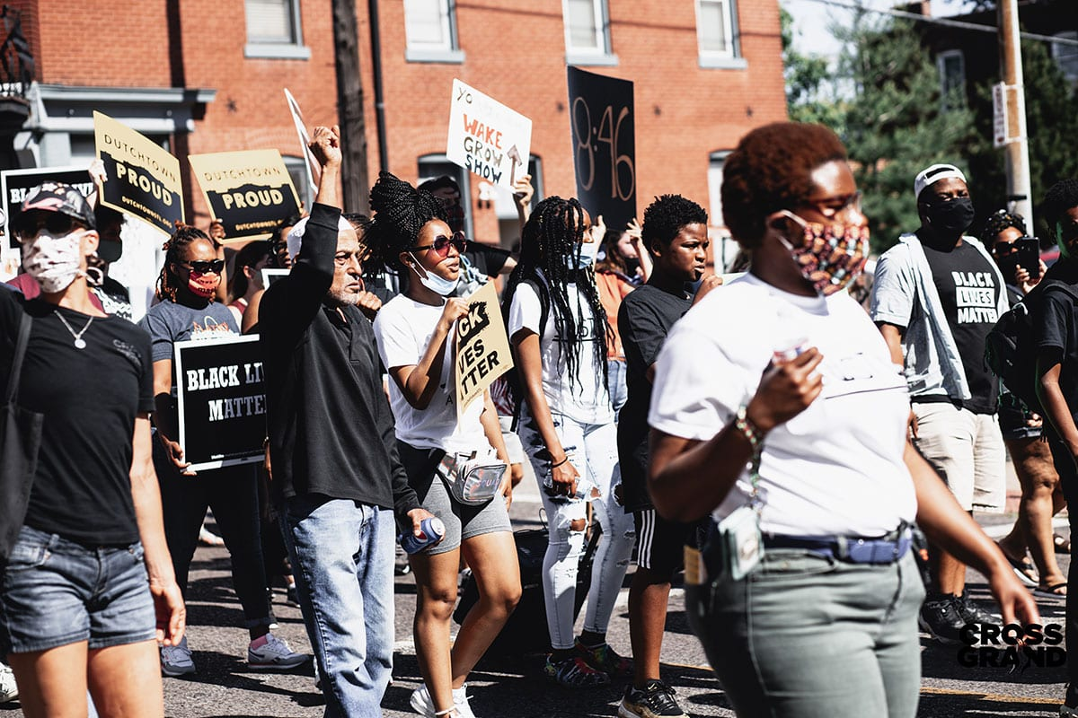 8:46 @ 8:46 Dutchtown Family March for Justice and Equality. Photo by Chip Smith of Cross Grand.
