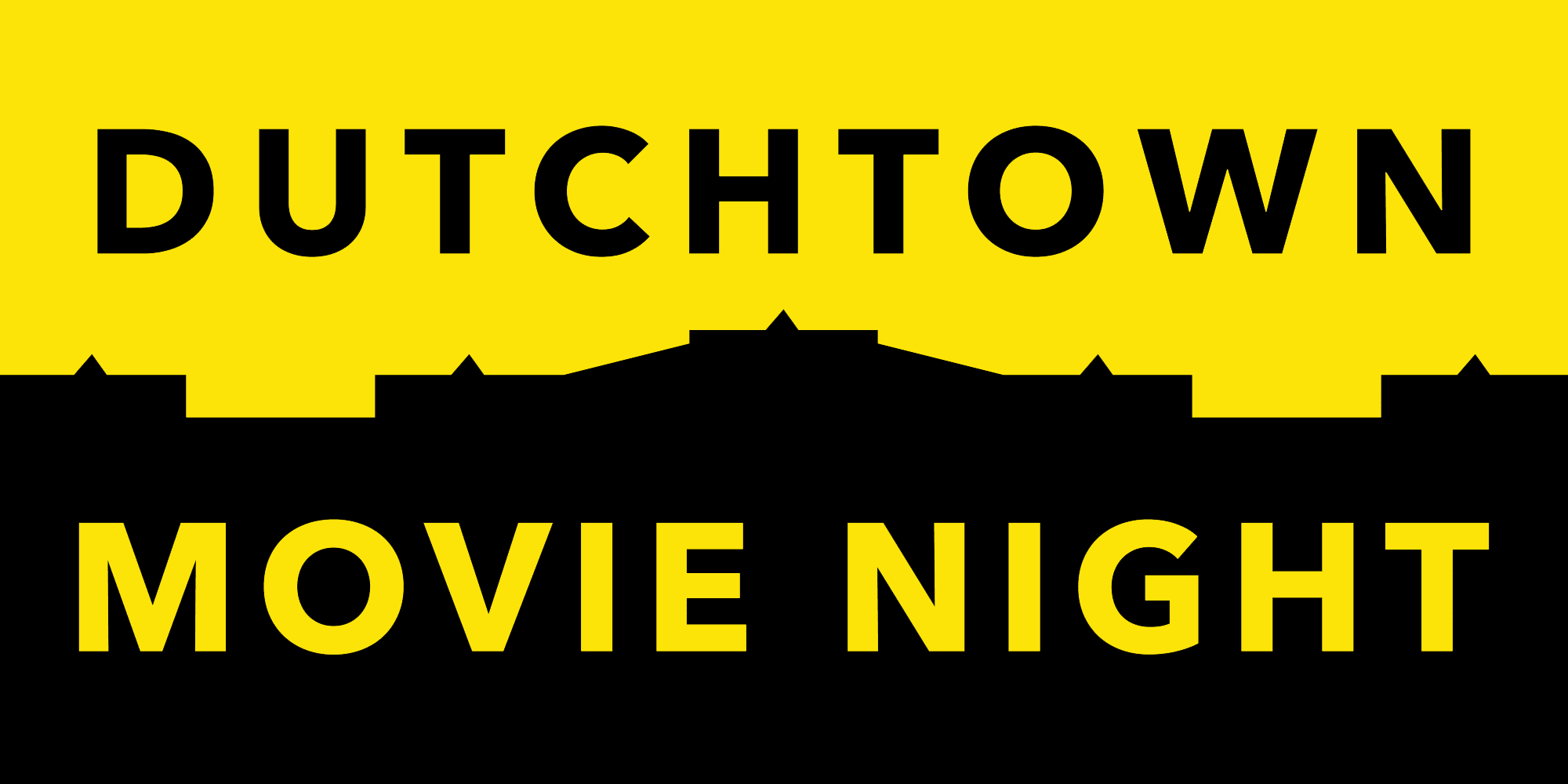 Dutchtown Movie Night.