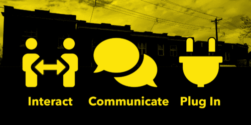 Dutchtown Blocks: Interact, communicate, and plug in.