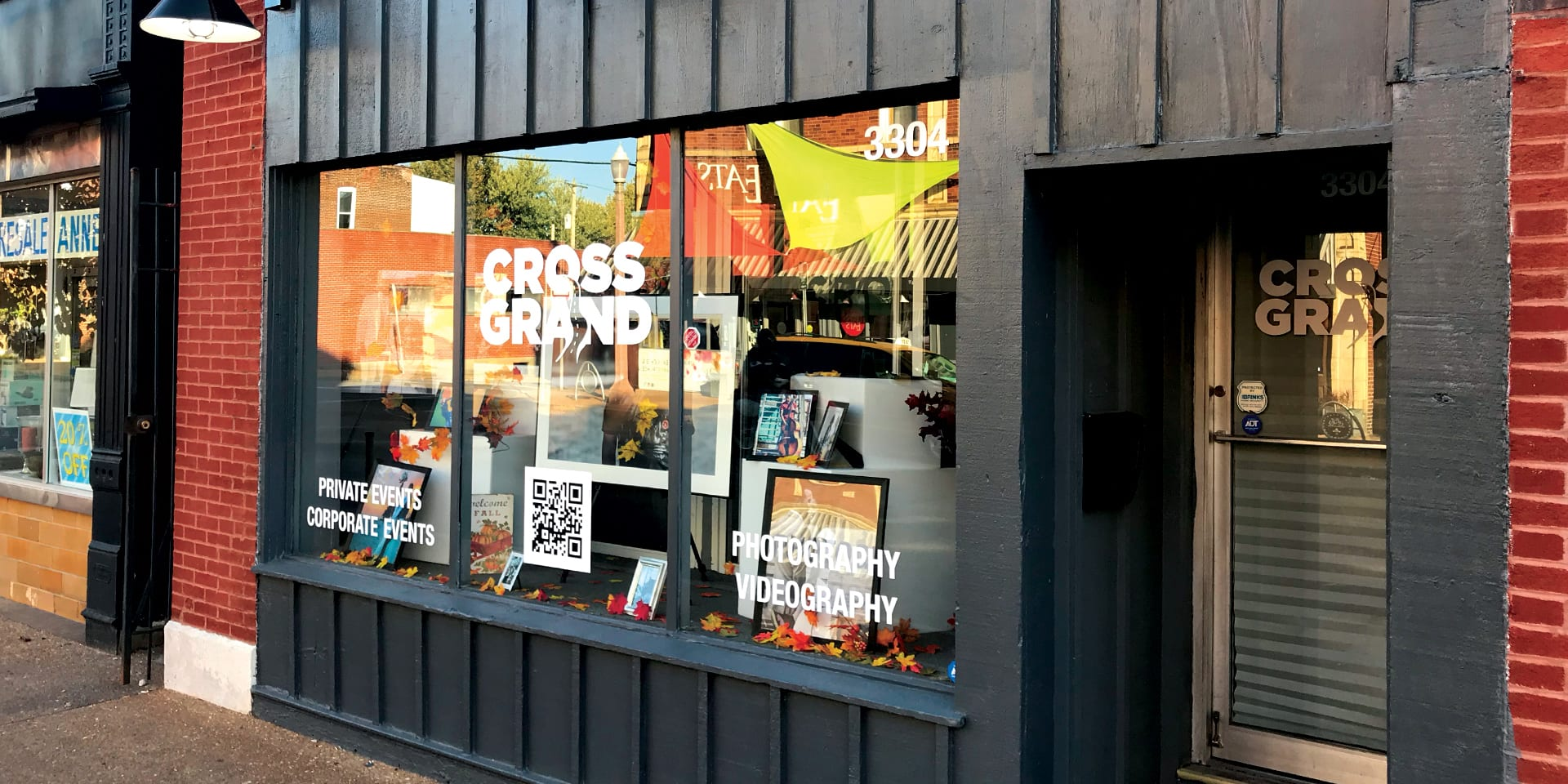 The studio of Cross Grand, 3304 Meramec Street in Downtown Dutchtown.