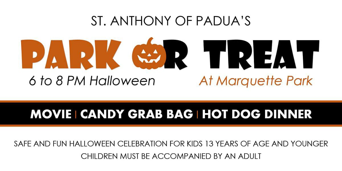 St. Anthony of Padua's Park-or-Treat at Marquette Park.