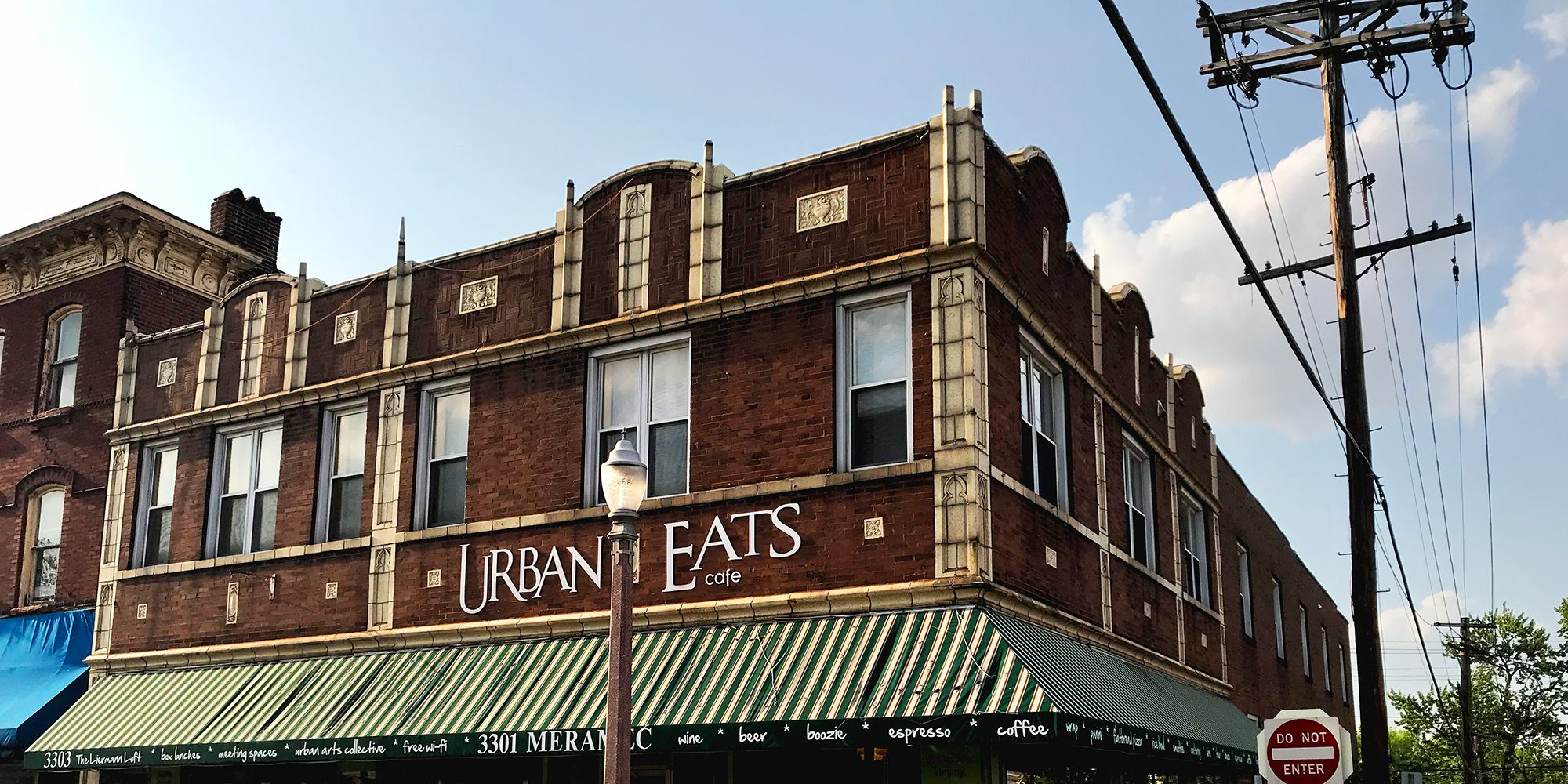 Urban Eats, 3301 Meramec Street at Virginia Avenue in Downtown Dutchtown, St. Louis, MO.