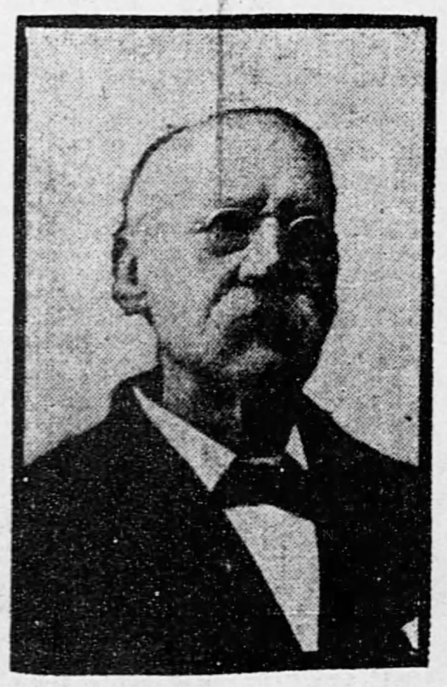 Dr. William D. W. Barnard, from the August 9th, 1902 St. Louis Republic.