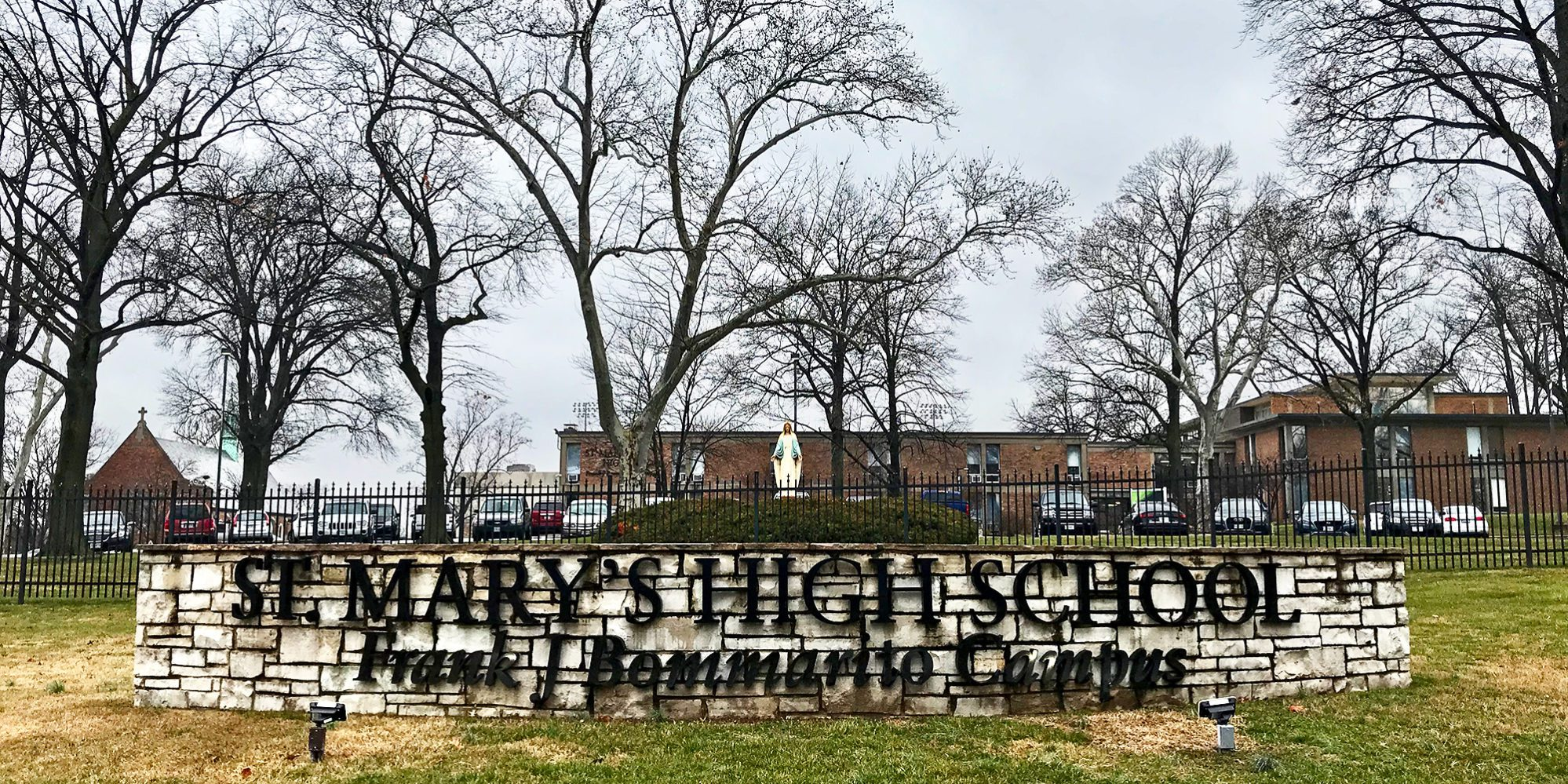 St. Mary's High School, an all boys Catholic school in Dutchtown, St. Louis, MO.