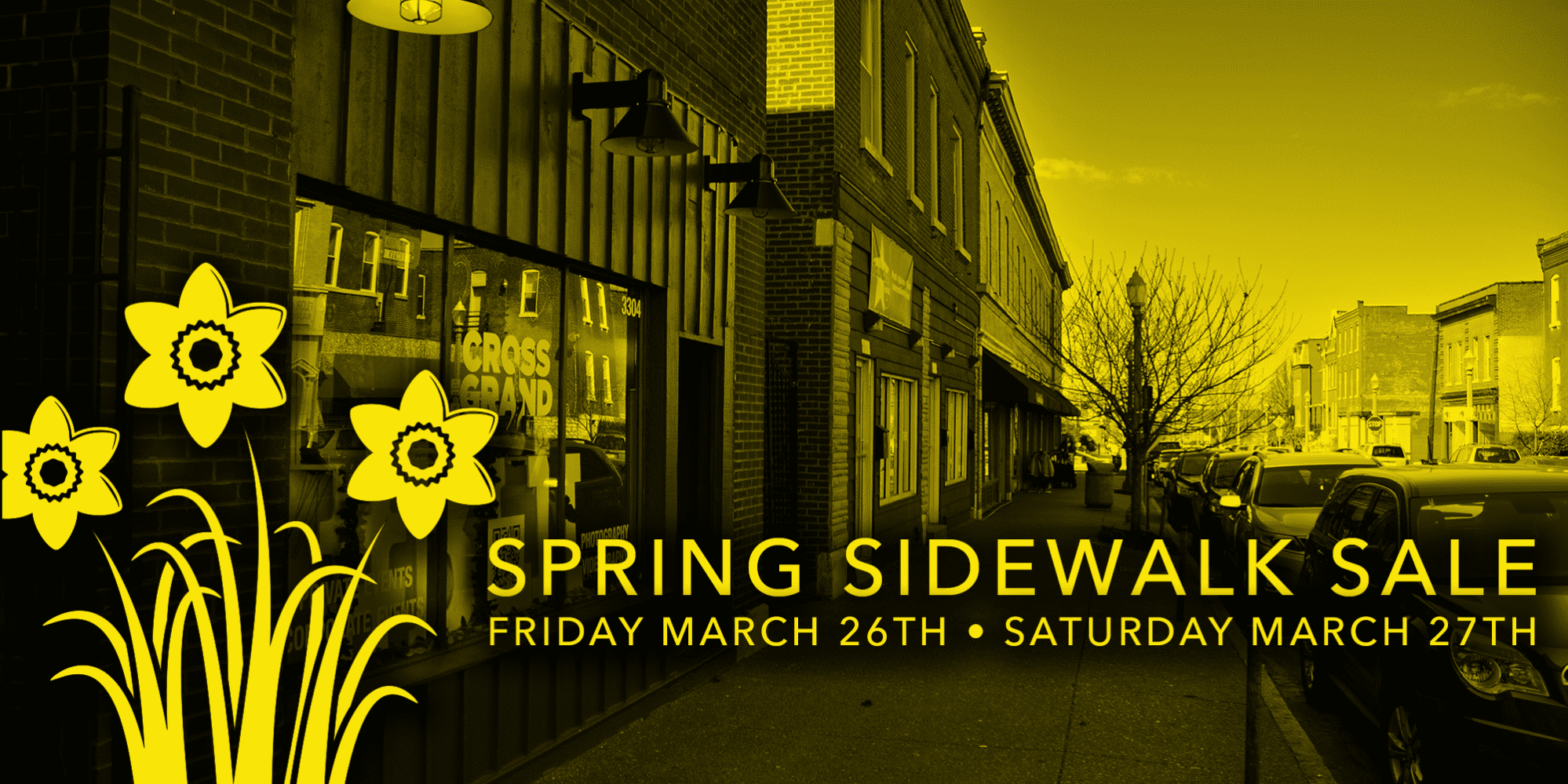 Spring Sidewalk Sale in Downtown Dutchtown, Friday March 26th and Saturday March 27th.