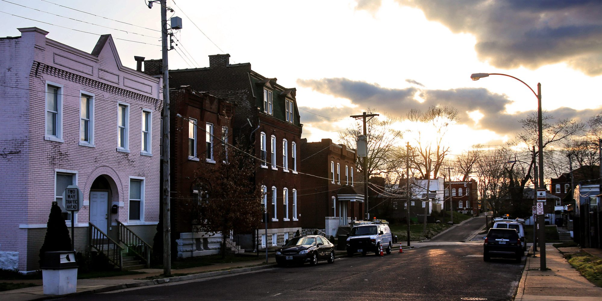 Salena Street and Winnebago Street in the Marine Villa neighborhood of Greater Dutchtown, St. Louis, MO.