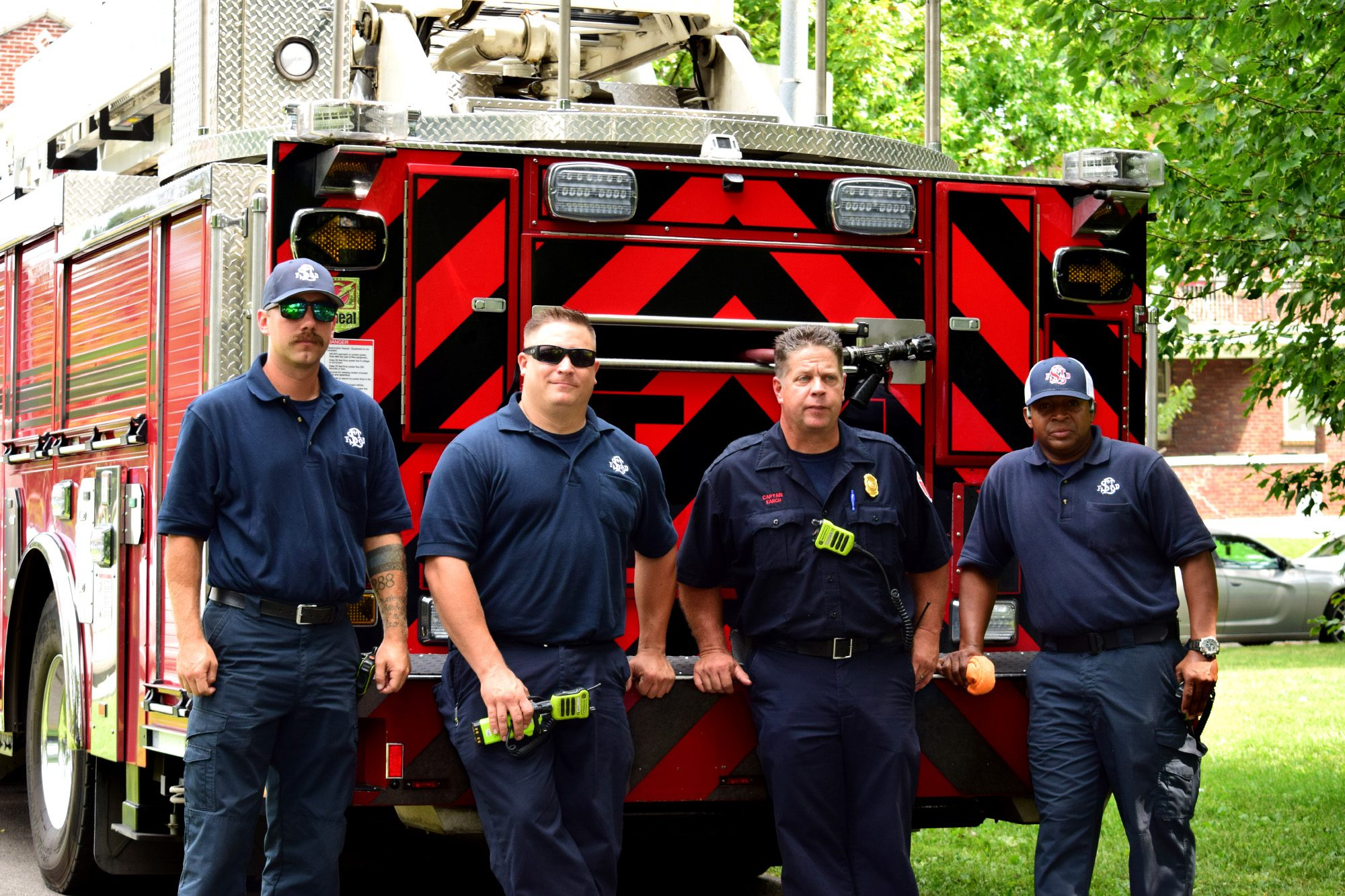 The St. Louis Fire Department at Marquette Community Day in Dutchtown, St. Louis, MO.