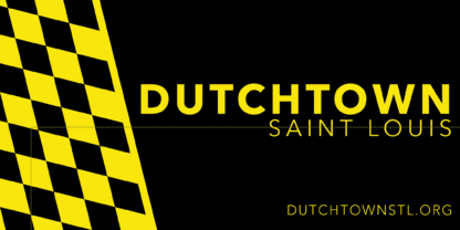 Dutchtown bumper sticker design.