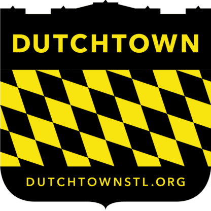 Dutchtown Shield logo.