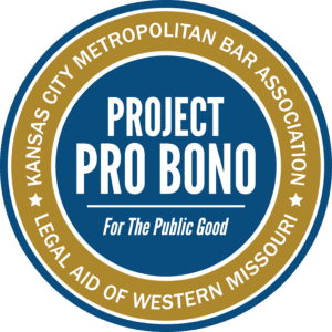 Project Pro Bono for the Public Good, a partnership of KCMBA and LAWMO.